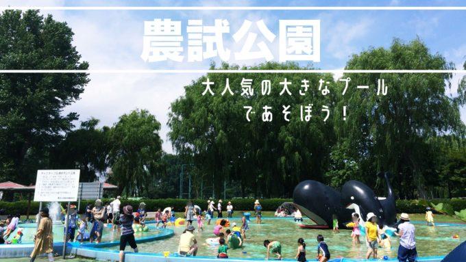 札幌水遊び農試公園の紹介