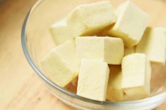 離乳食高野豆腐の調理法