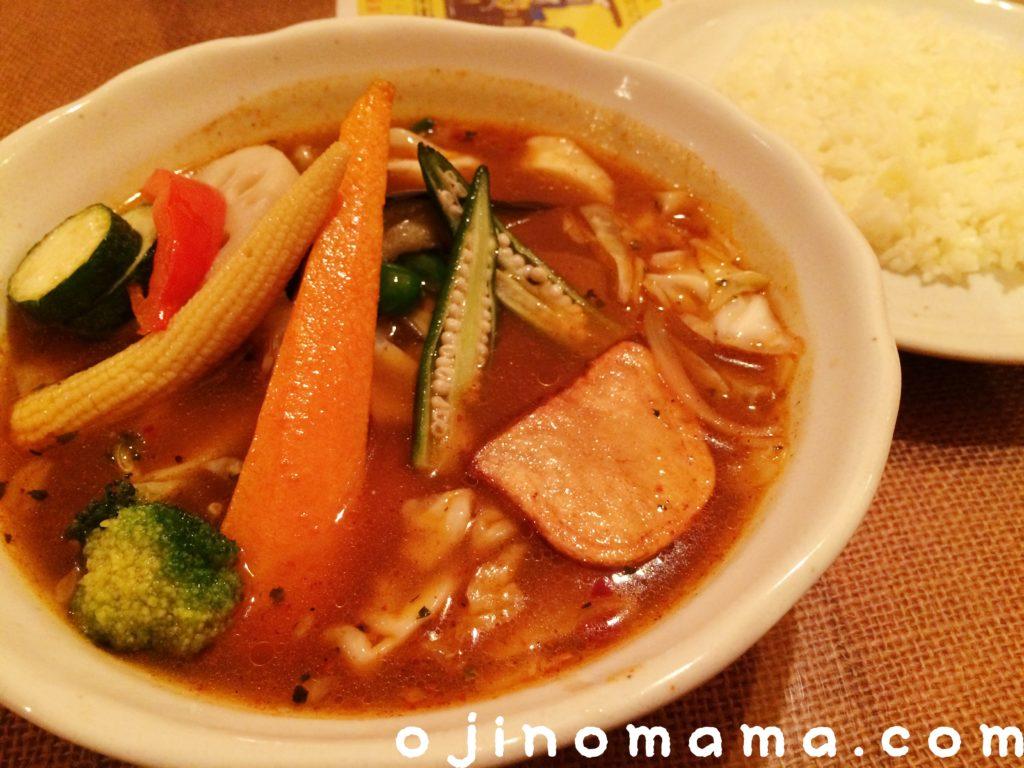 札幌子連れスープカレーメディスンマン