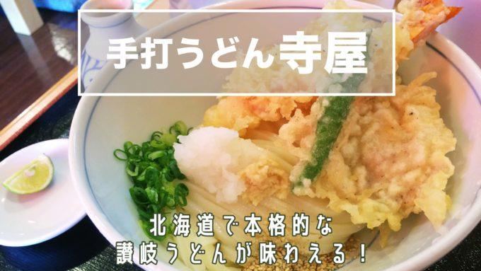 札幌子供連れランチ寺屋の紹介