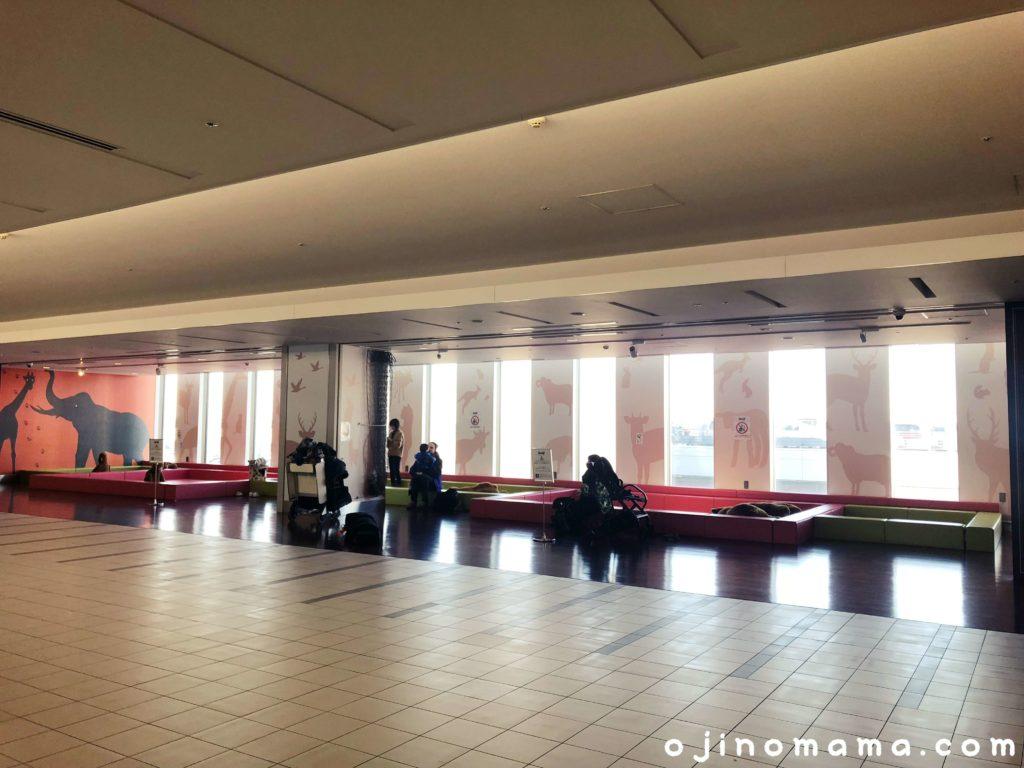 新千歳空港シュタイフキッズスペース