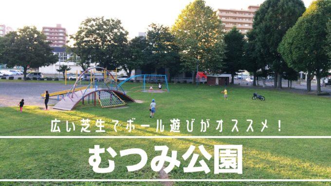 札幌市豊平区むつみ公園の遊具紹介