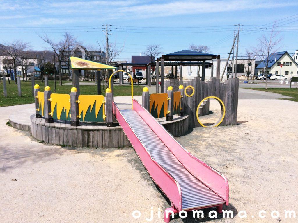 西宮の沢公園幼児用すべり台