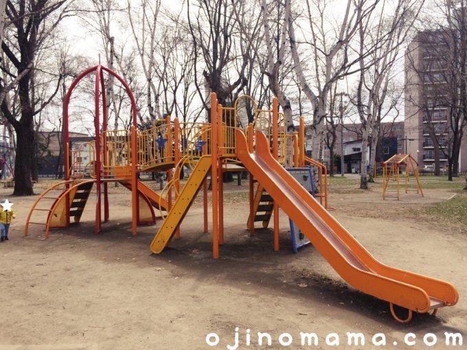 札幌市東区美香保公園遊具1