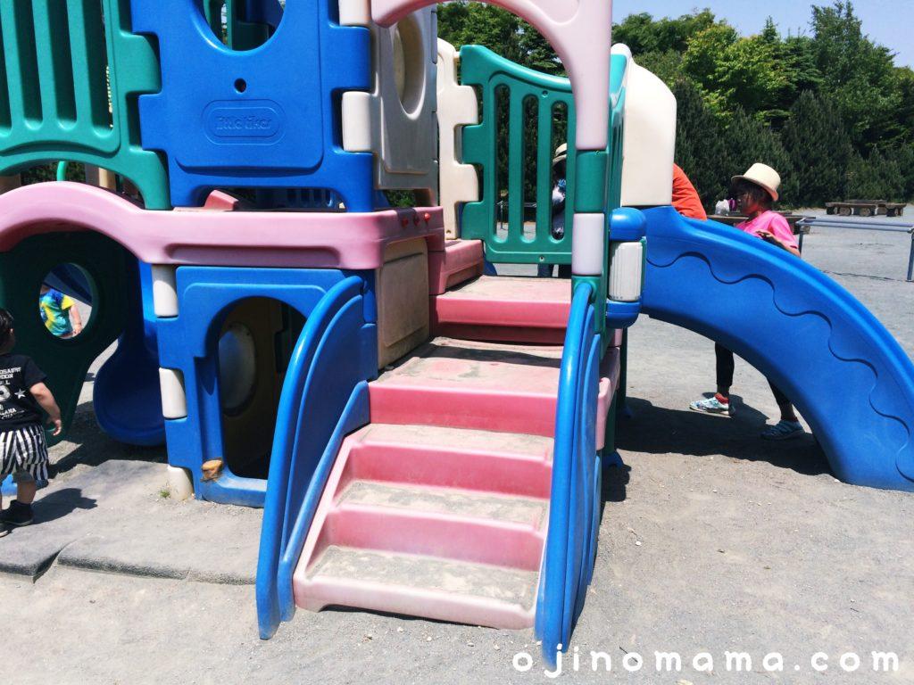 川下公園幼児用コンビ遊具2