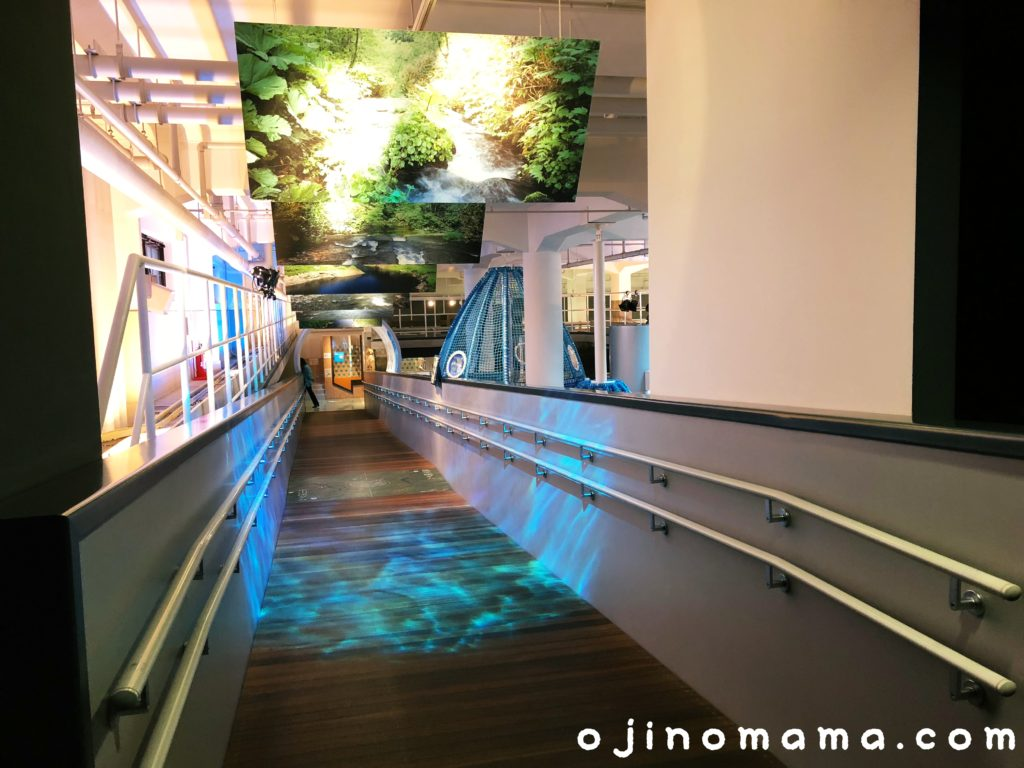 札幌市水道記念館スロープ