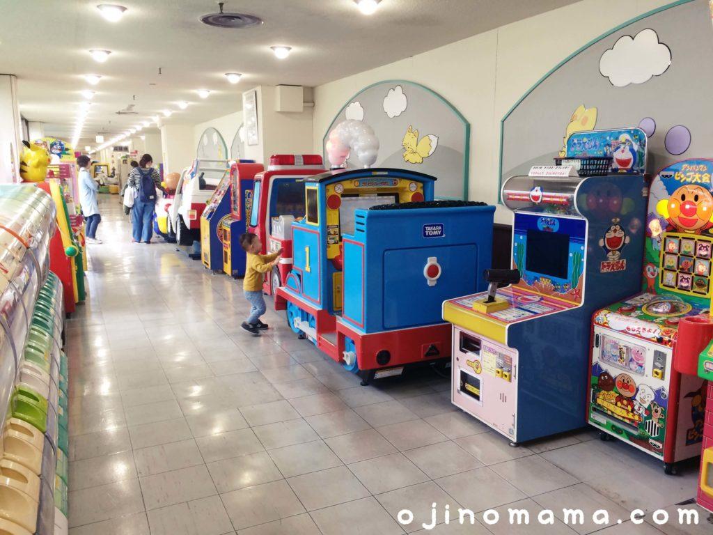 札幌東急なかよし広場前ゲームコーナー