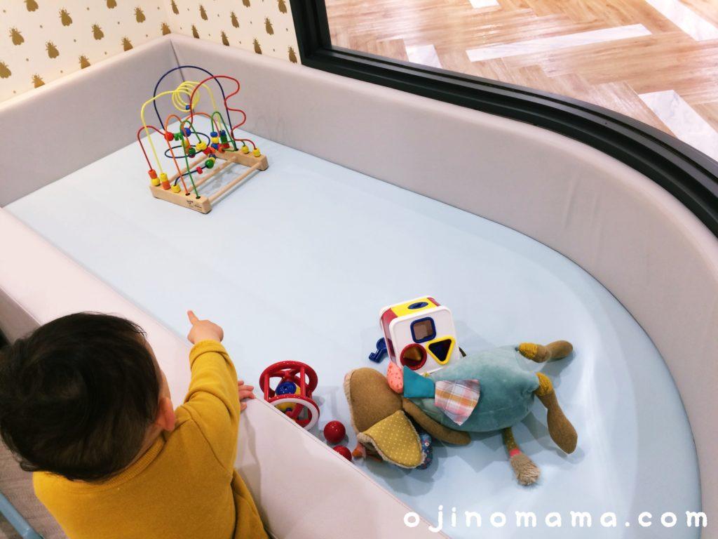 札幌東急ベビー休憩室キッズスペース