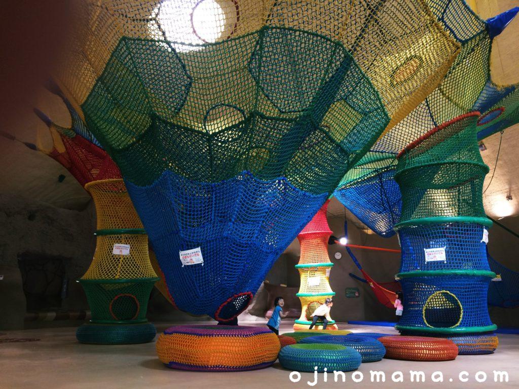 滝野すずらん公園屋内遊び場虹の巣ドーム
