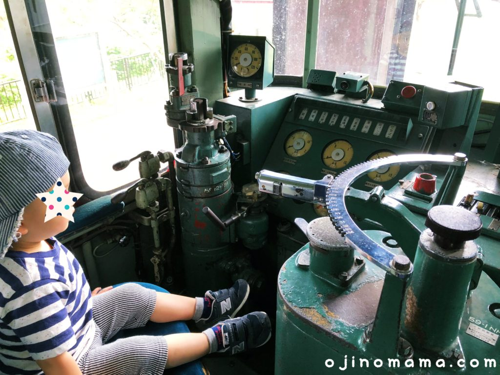 三笠鉄道村機関車中