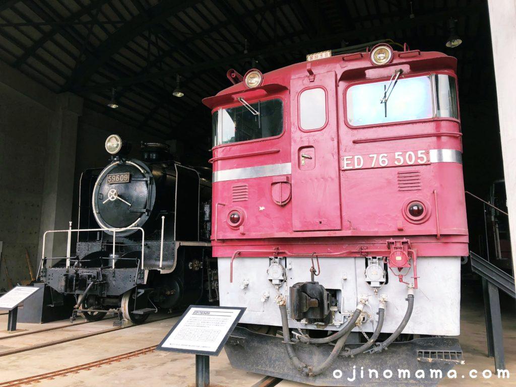 三笠鉄道村機関車2