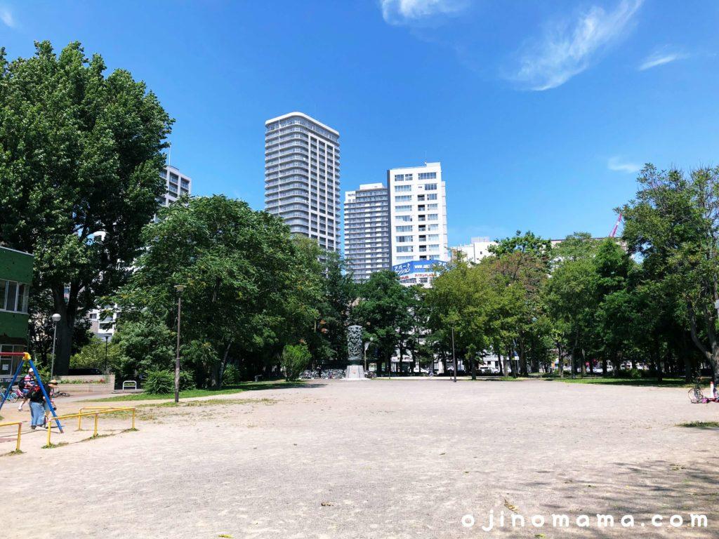札幌中島公園砂地