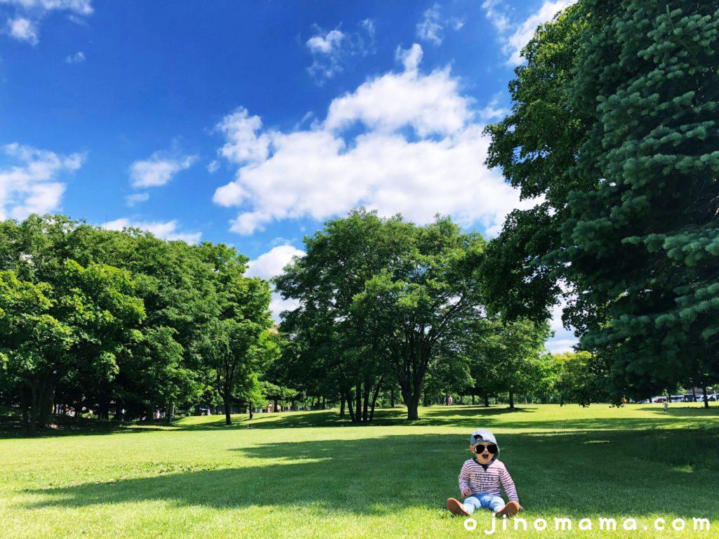 札幌中島公園芝生