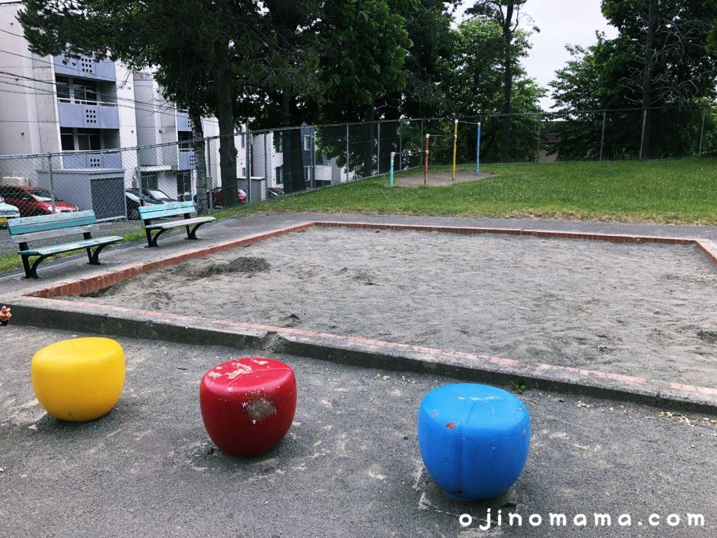 札幌平岸高台公園砂場