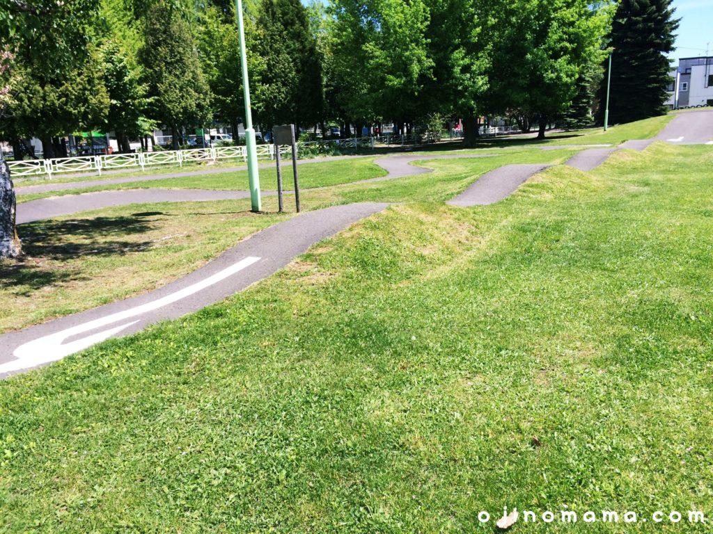 札幌白石東冒険公園サイクルパーク1