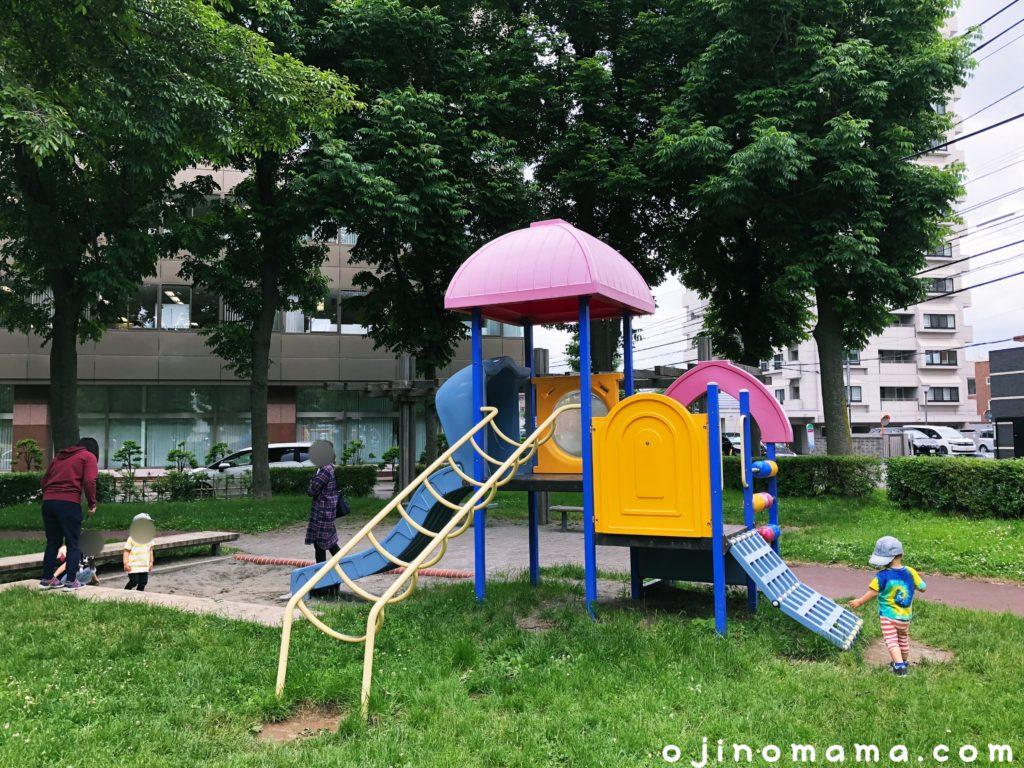 札幌若葉公園幼児用コンビ遊具1-min