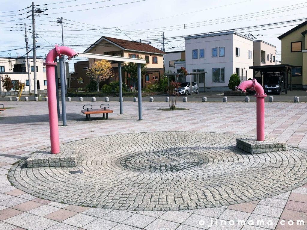 手稲区明日風公園水遊び場