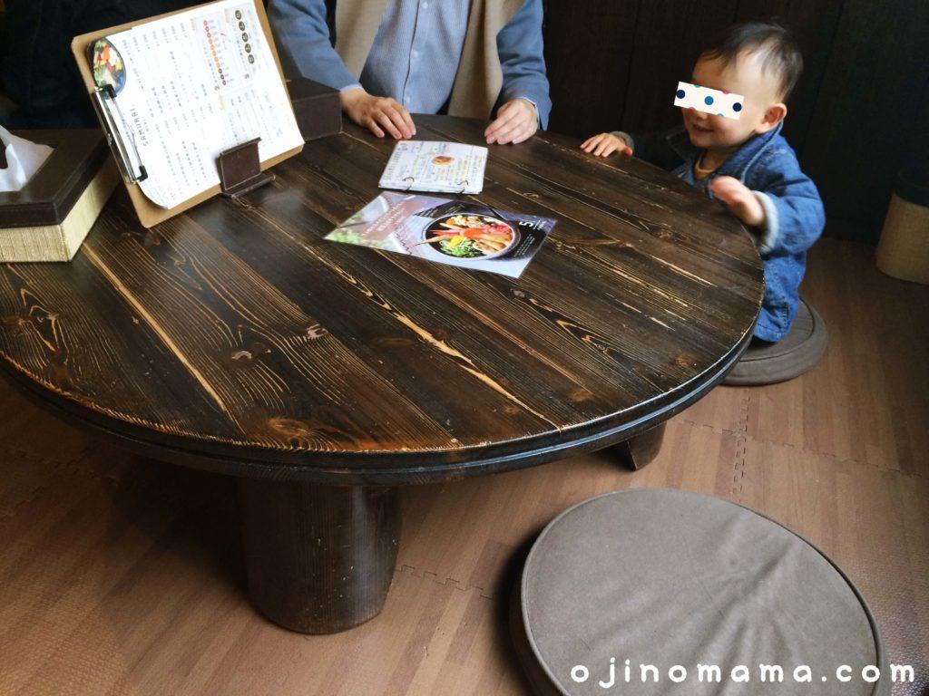 札幌ランチ小上がり席があるスープカレー侍