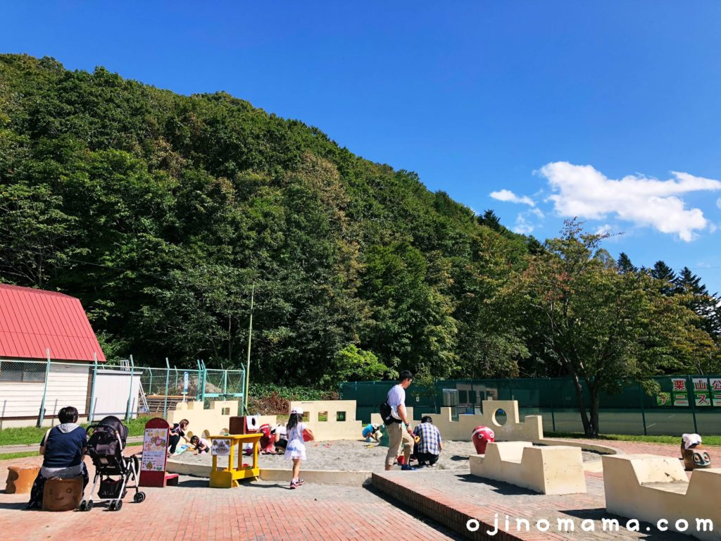 栗山公園砂場