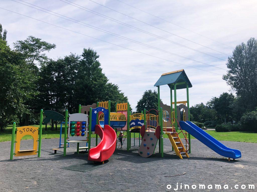 発寒西陵公園幼児用コンビ遊具2
