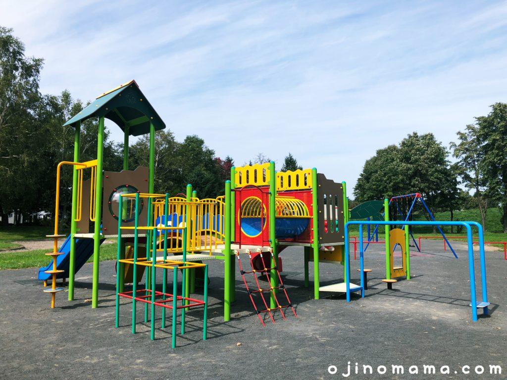 発寒西陵公園幼児用コンビ遊具3
