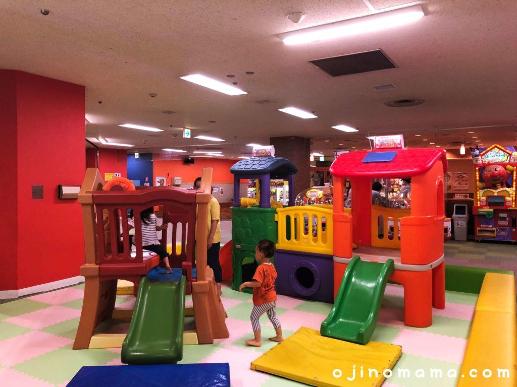 ファンタジーキッズリゾート小さい子コンビ遊具