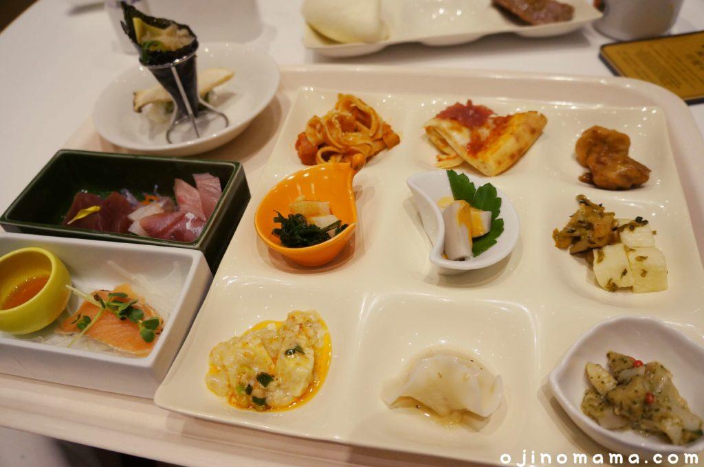 乃の風リゾートブッフェレストラン料理