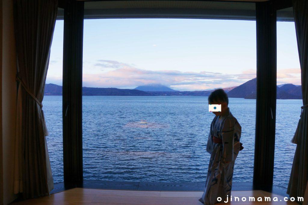 乃の風リゾート客室からの眺め