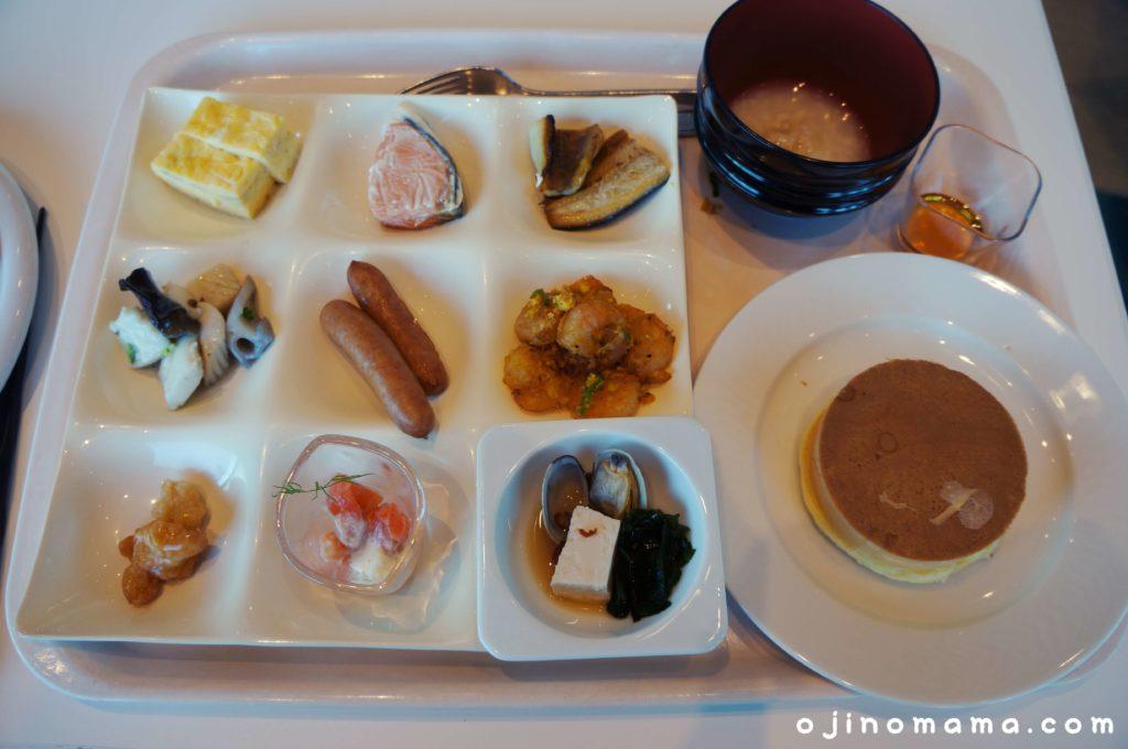 乃の風リゾート朝食バイキングメニュー