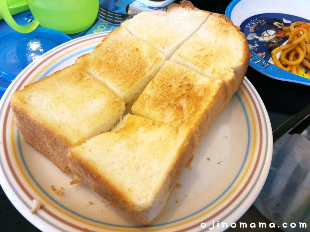 神野喫茶店トースト
