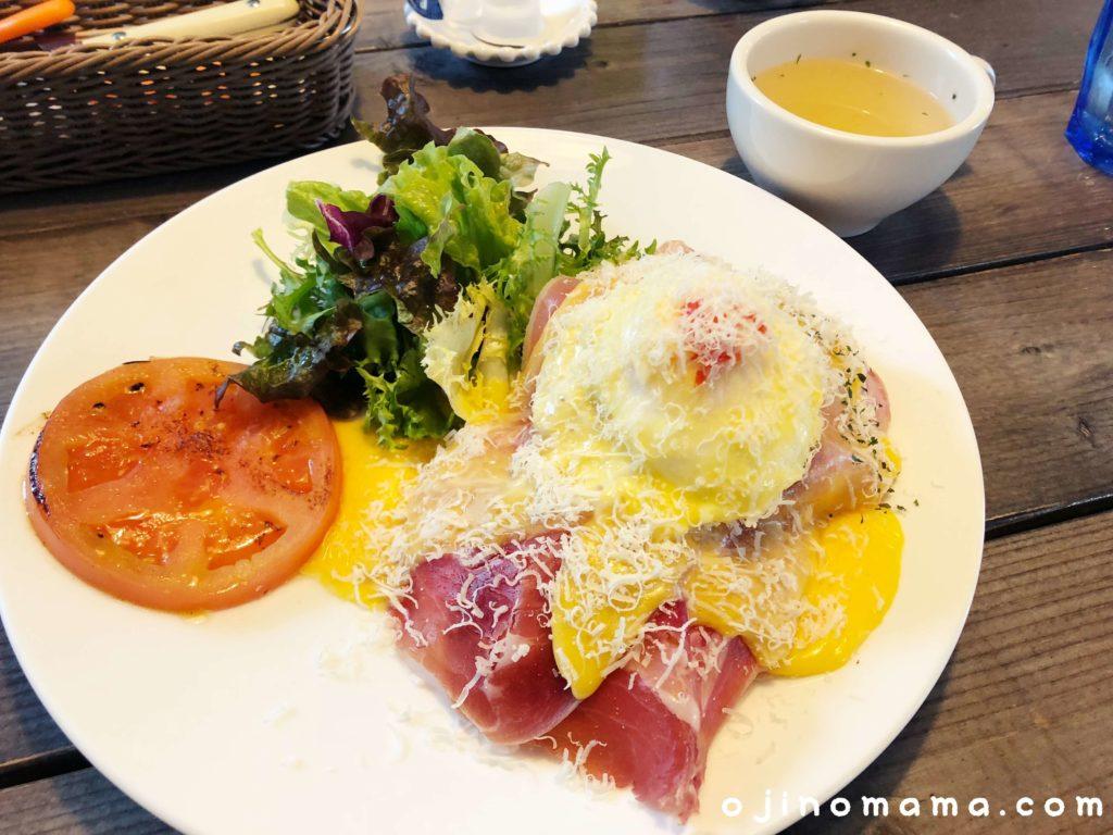 札幌子連れランチカフェブルーパンケーキ