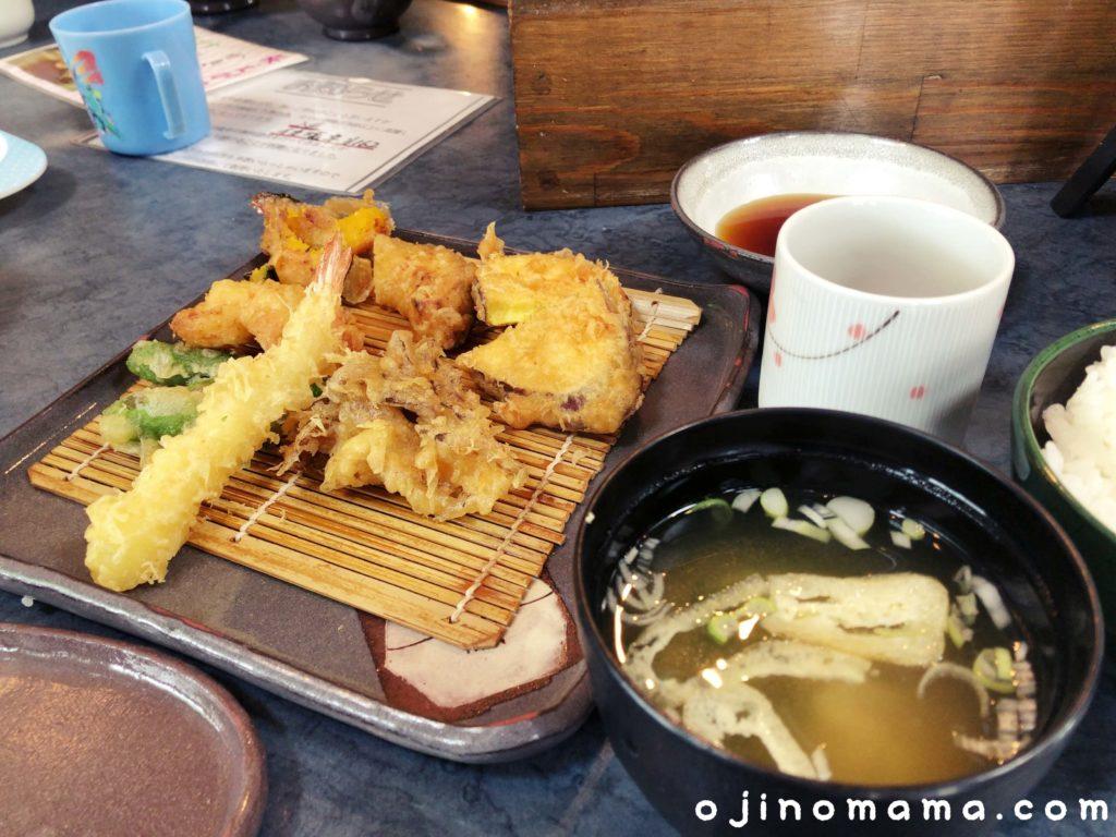 札幌市清田区天ぷらてんてん定食