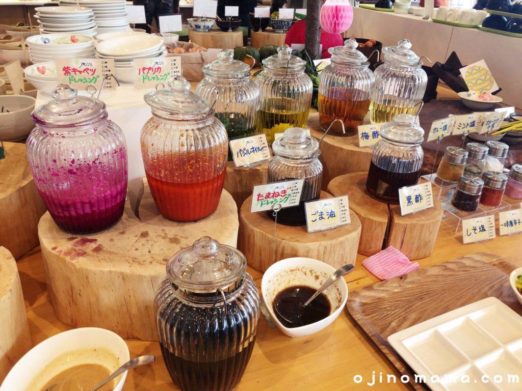 札幌芸術の森ランチ畑のはるドレッシング