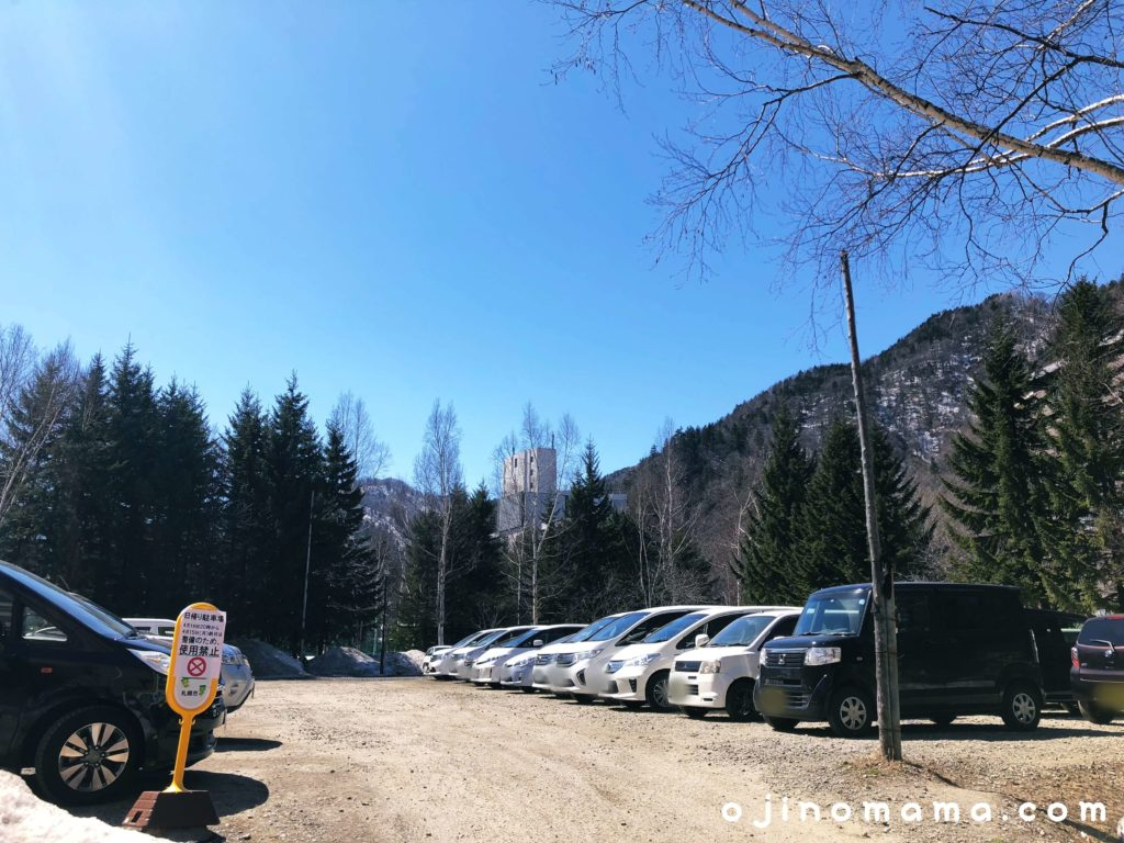 定山渓温泉公共駐車場