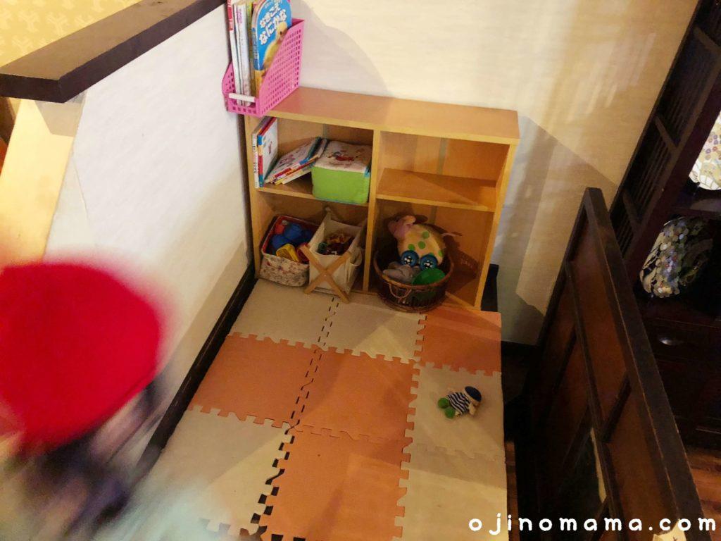 札幌子連れランチブルックスカレー食堂キッズスペース