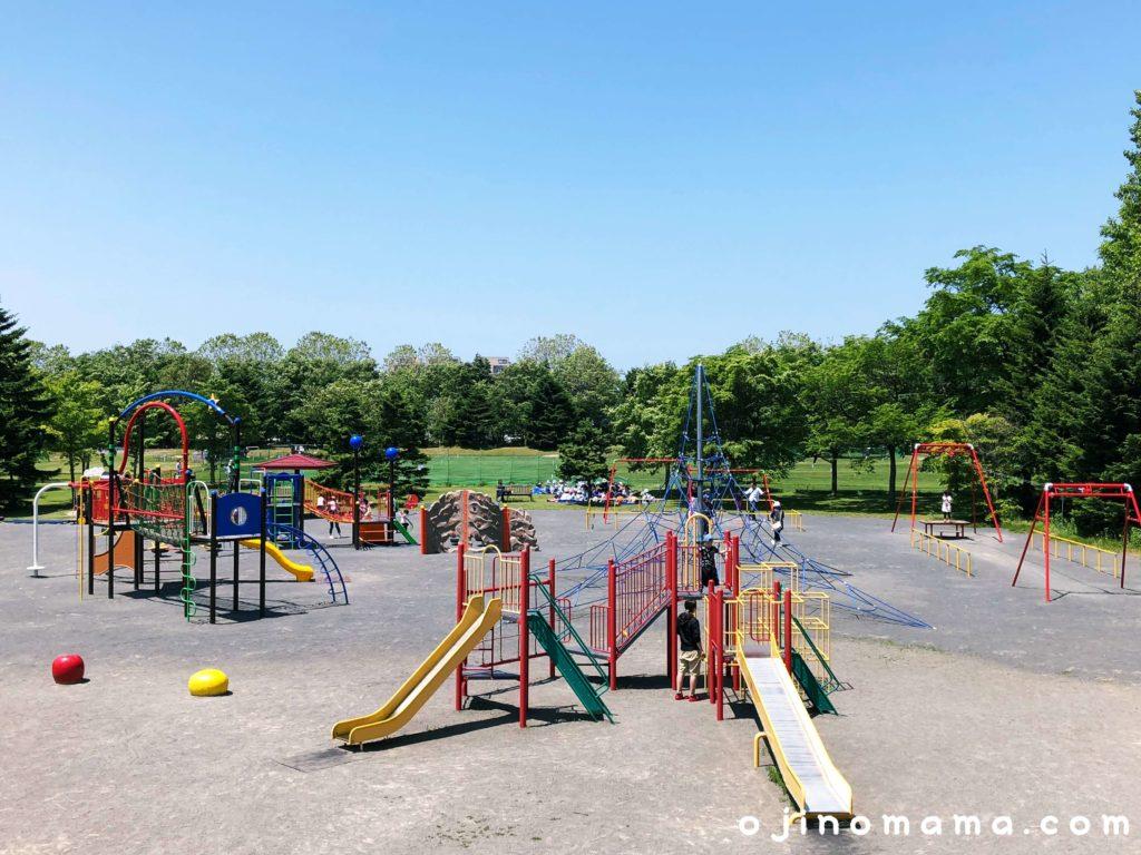 札幌市北区百合が原公園遊具