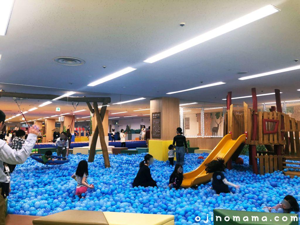 室内遊び場ピッピ千歳ボールプール