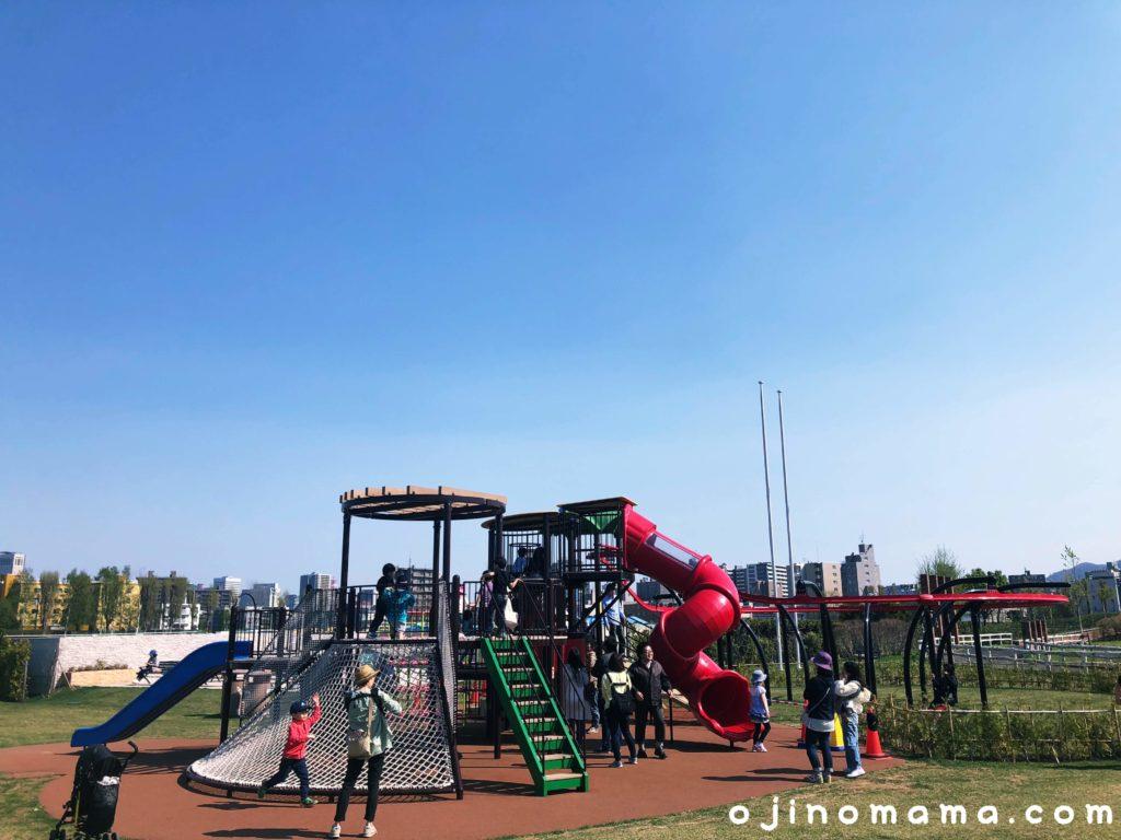 札幌競馬場子供遊び場