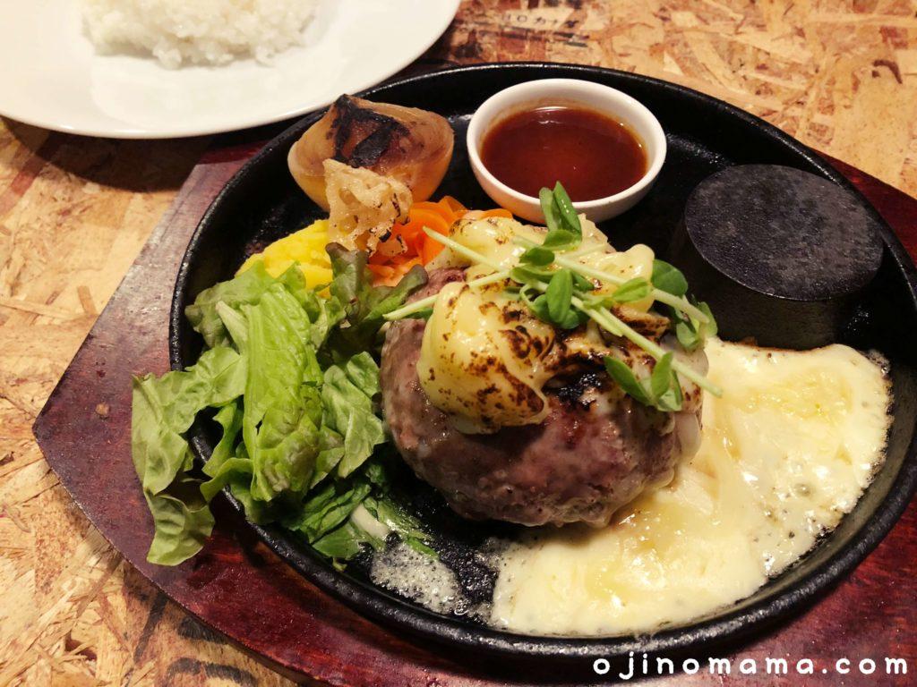 札幌tbirdcafeランチハンバーグ