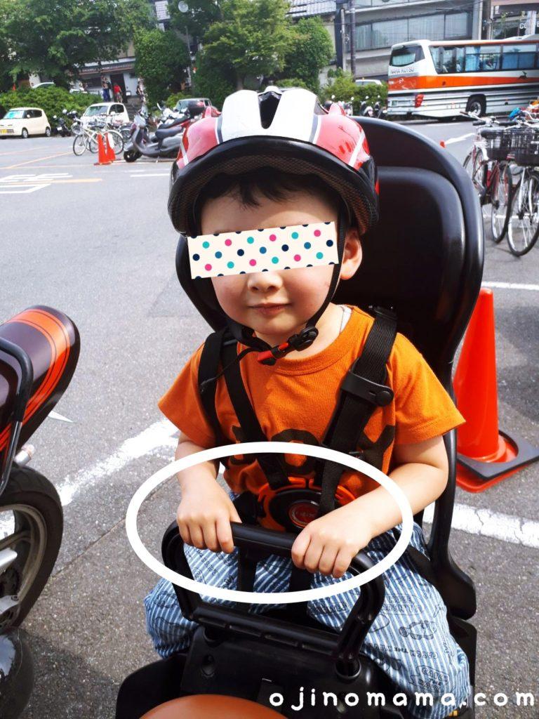 子乗せレンタサイクル2歳