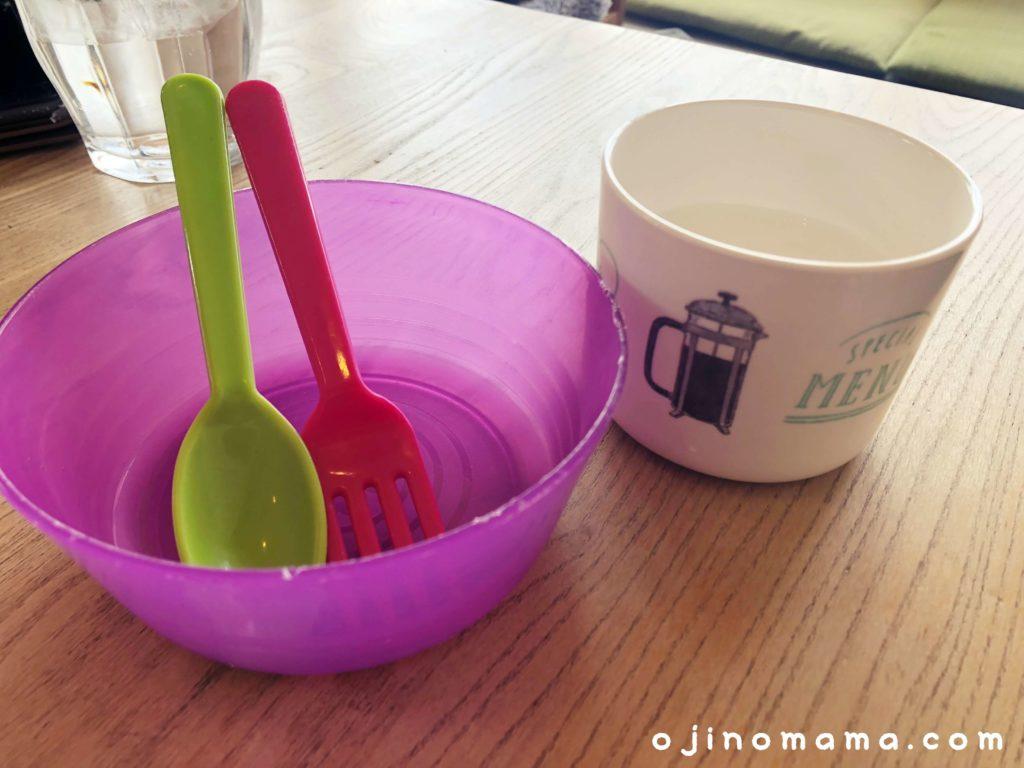 札幌厚別ふわもち邸子供用食器