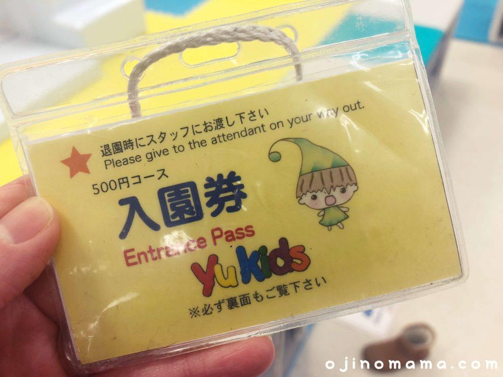 札幌清田ヤマダ電機キッズスペース入場