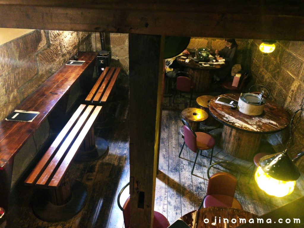 札幌ランチレストランのやテーブル席