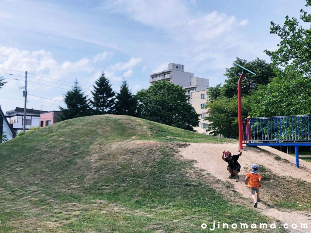 札幌市苗穂グリーン公園スキー山