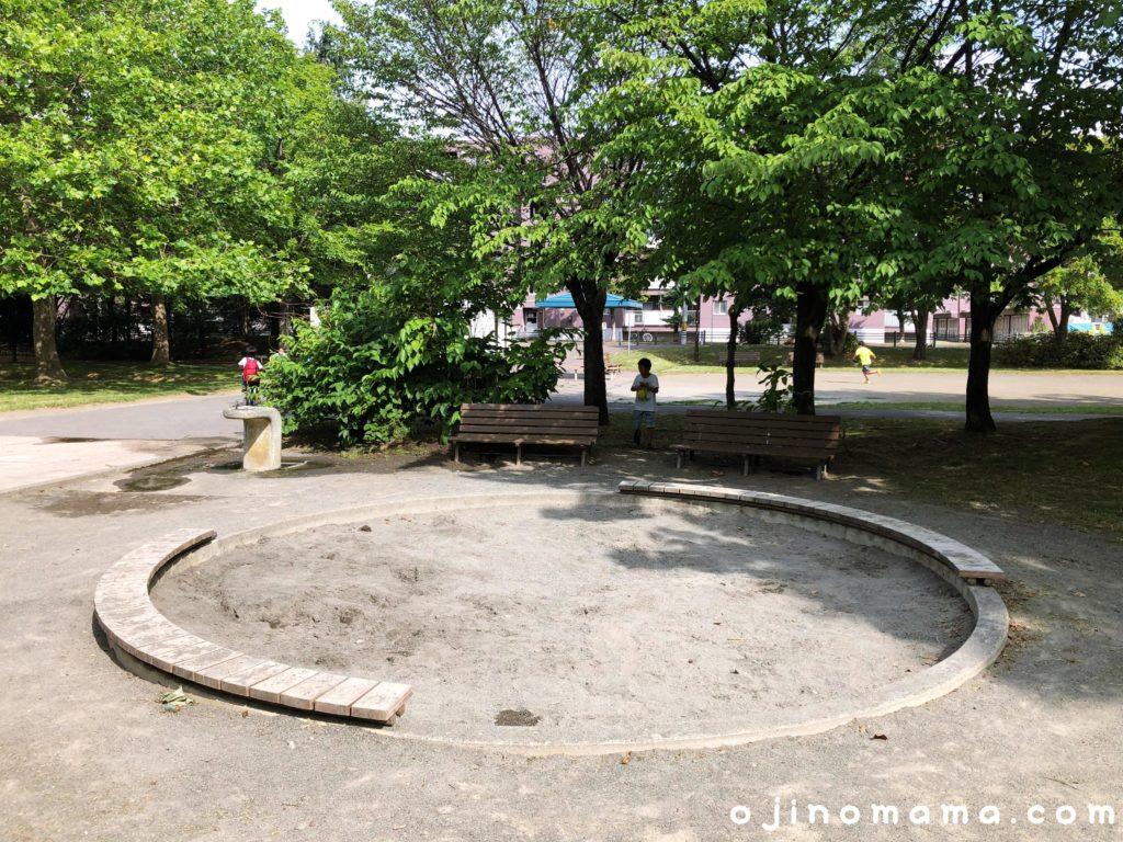 札幌市苗穂グリーン公園砂場