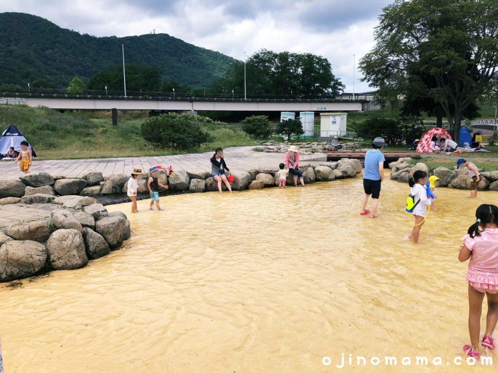 札幌水遊びウォーターガーデン浅瀬