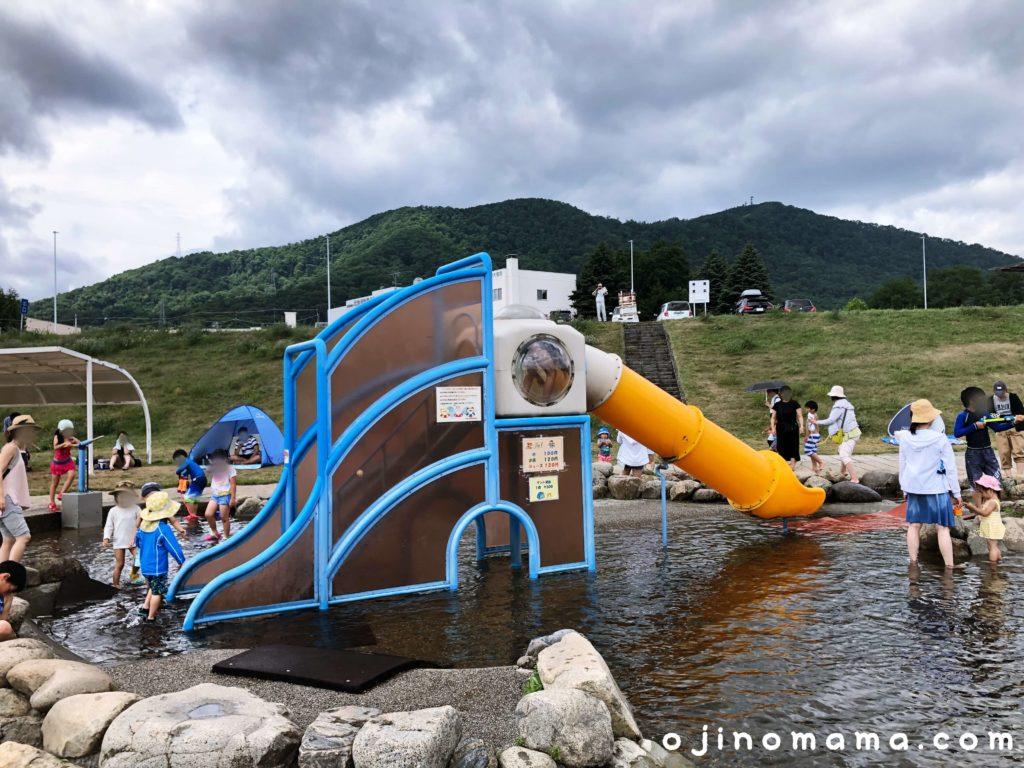 札幌豊平川ウォーターガーデンすべり台