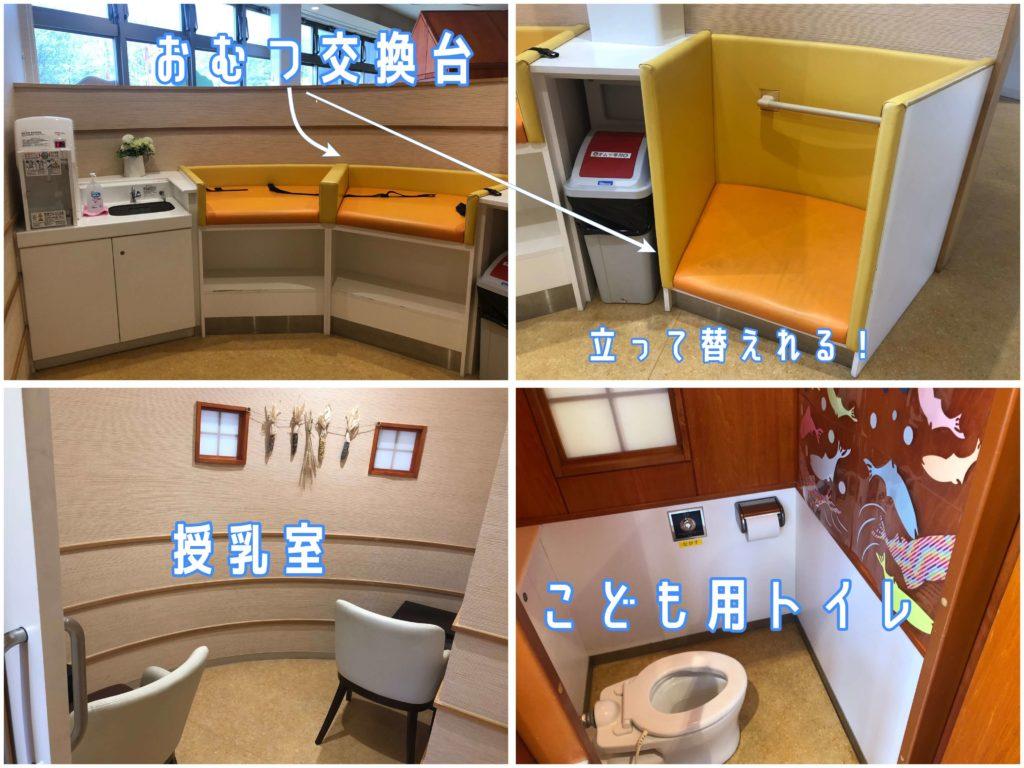 サーモンパーク千歳授乳室とおむつ交換台