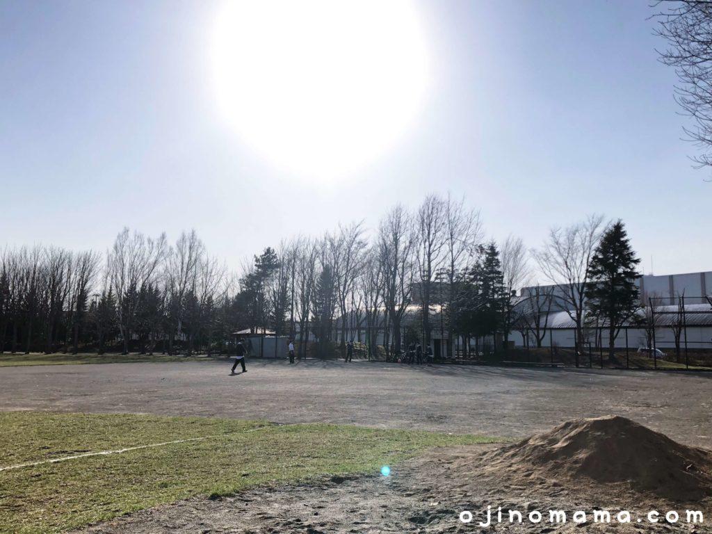 札幌市平岡南公園少年野球場