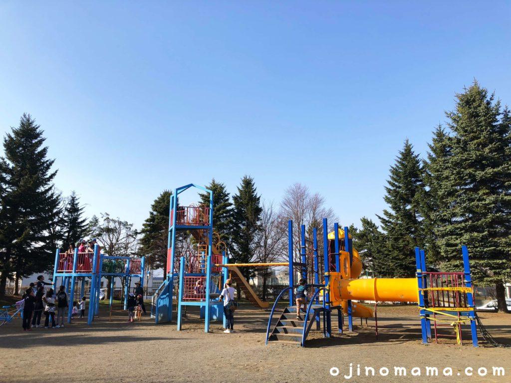 札幌市平岡南公園遊具4